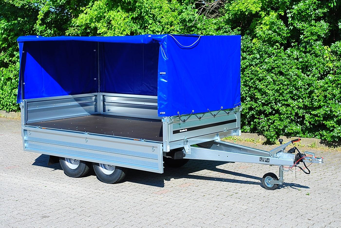 trelex pkw anh nger brenderup 3251tb 1000 kg tandem. Black Bedroom Furniture Sets. Home Design Ideas