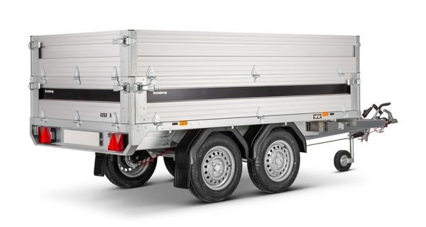 trelex pkw anh nger brenderup 4260tb 1500 kg. Black Bedroom Furniture Sets. Home Design Ideas